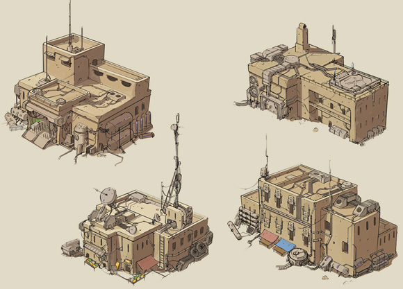 Tom Woode's medina building concepts