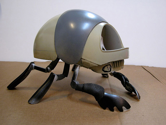 The plastic Scarab prototype