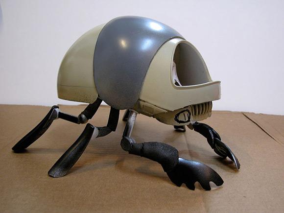 The plastic Scarab prototype