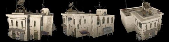 The medina's radio station.