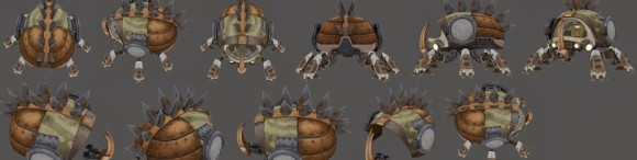Scarab heavy armor textures