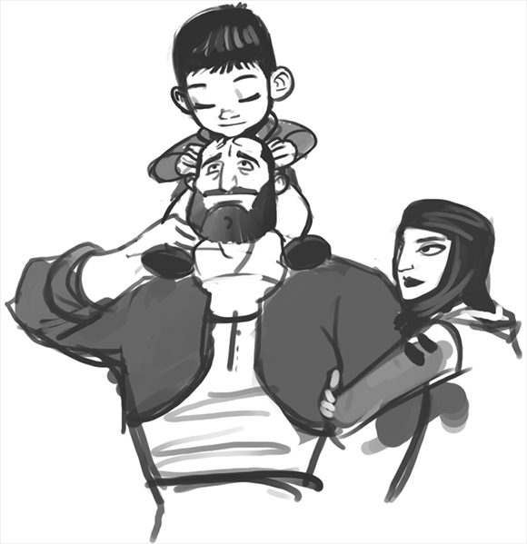 family-sketch